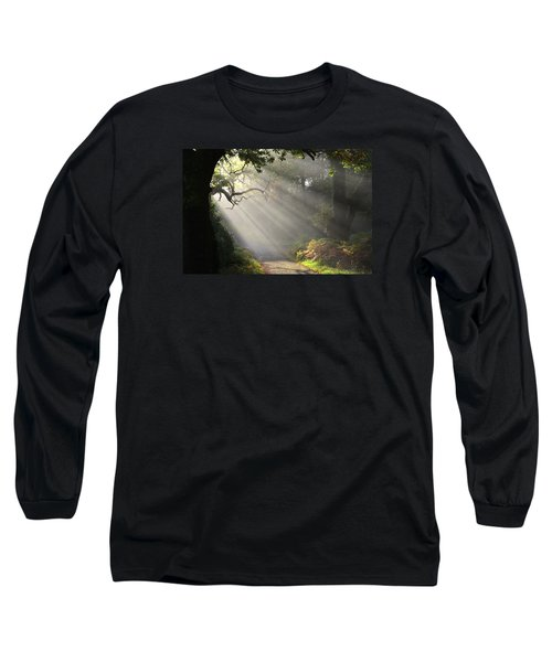 Magical Moment In The Park Long Sleeve T-Shirt by Barbara Walsh