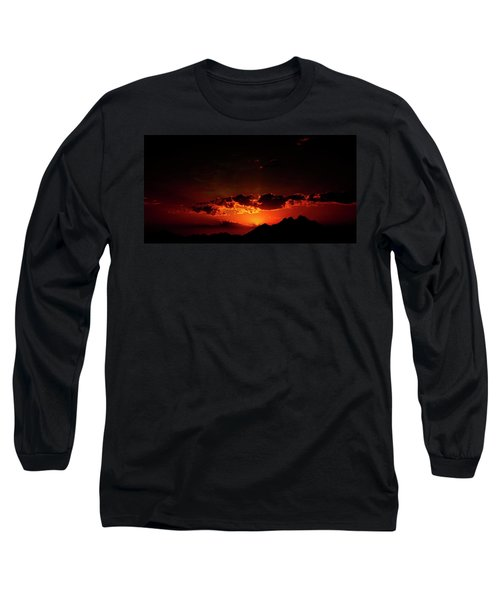 Magical Sunset In Africa 2 Long Sleeve T-Shirt
