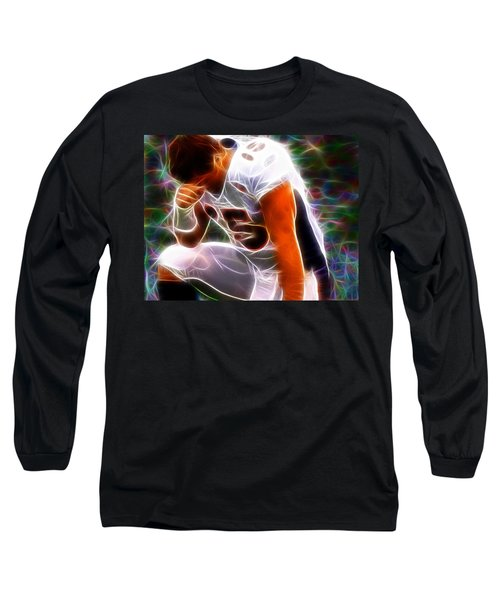 Magical Tebowing Long Sleeve T-Shirt by Paul Van Scott