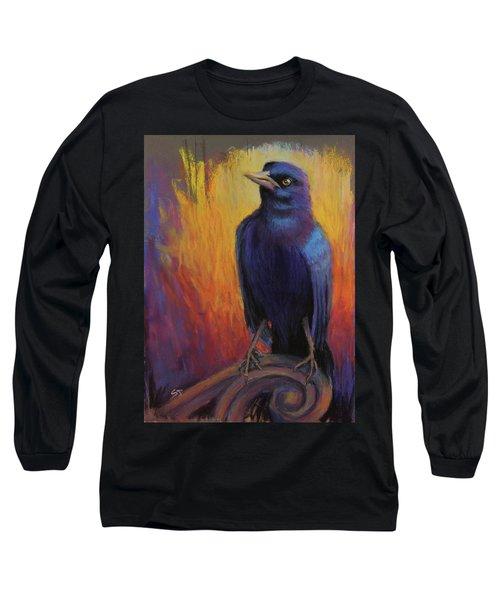 Magnificent Bird Long Sleeve T-Shirt
