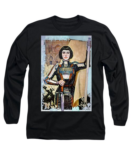 Maid Of Orleans Long Sleeve T-Shirt by Pennie McCracken