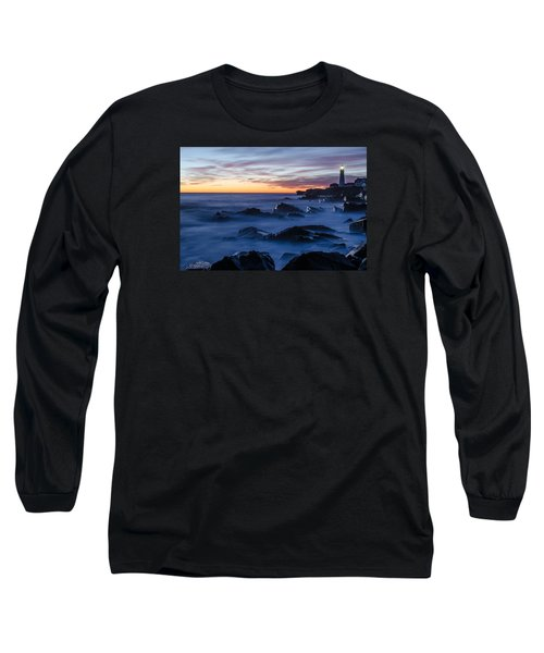 Long Sleeve T-Shirt featuring the photograph Maine by Paul Noble