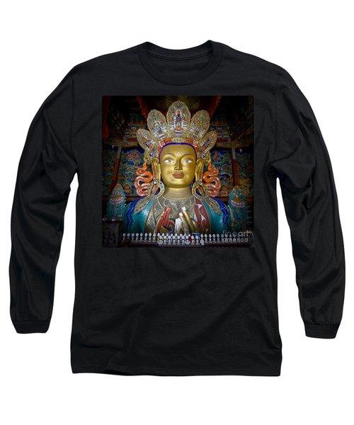 Maitreya Buddha Long Sleeve T-Shirt
