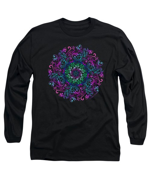 Majestic Kaleidoscope Long Sleeve T-Shirt