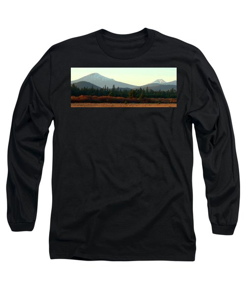 Majestic Mountains Long Sleeve T-Shirt by Terry Holliday Giltner