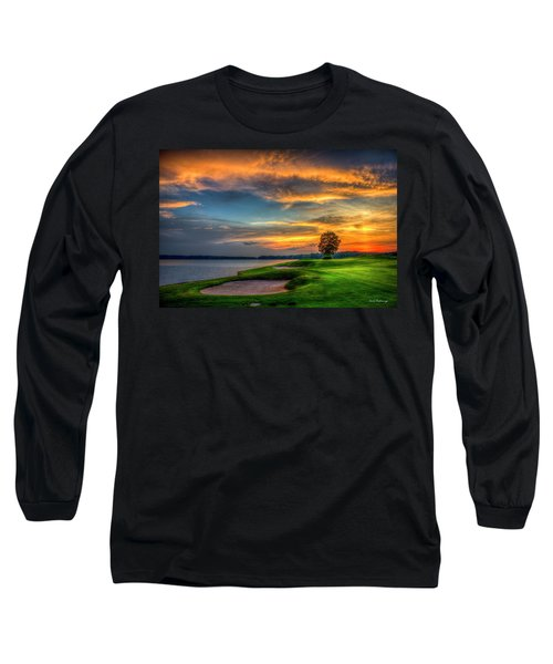 Long Sleeve T-Shirt featuring the photograph Majestic Number 4 The Landing Reynolds Plantation Art by Reid Callaway