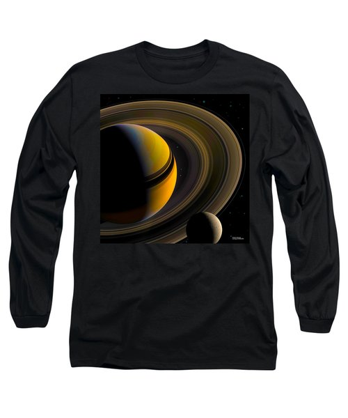 Majestic Saturn Long Sleeve T-Shirt