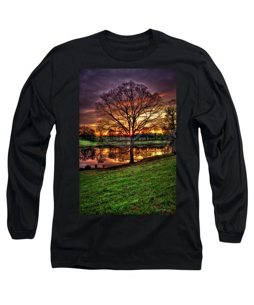 Majestic Sunrise Reflections Art Long Sleeve T-Shirt