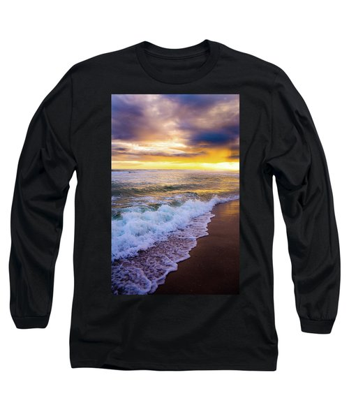 Long Sleeve T-Shirt featuring the photograph Majestic Sunset In Paradise by Shelby Young