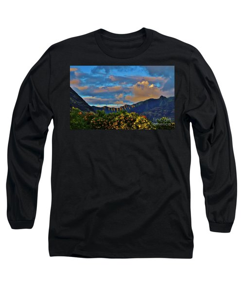 Makaha Sunset Long Sleeve T-Shirt