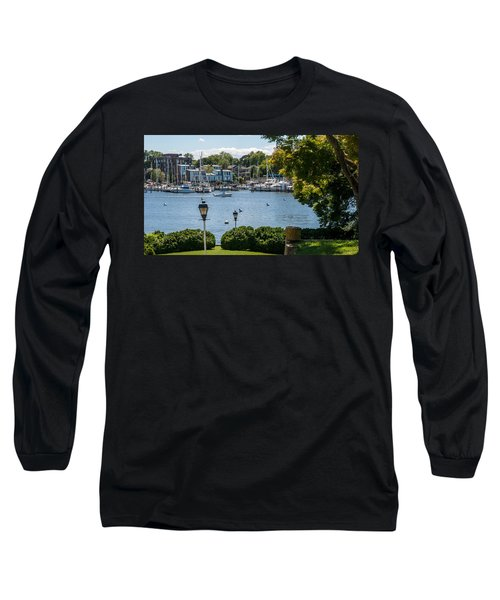 Long Sleeve T-Shirt featuring the photograph Making Way Up Creek by Charles Kraus