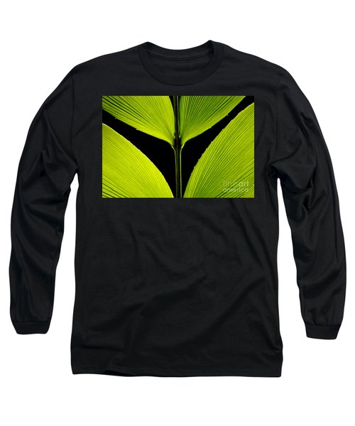 Malachite Flute Long Sleeve T-Shirt