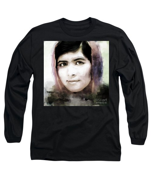 Malala Yousaf Zai 10 Long Sleeve T-Shirt