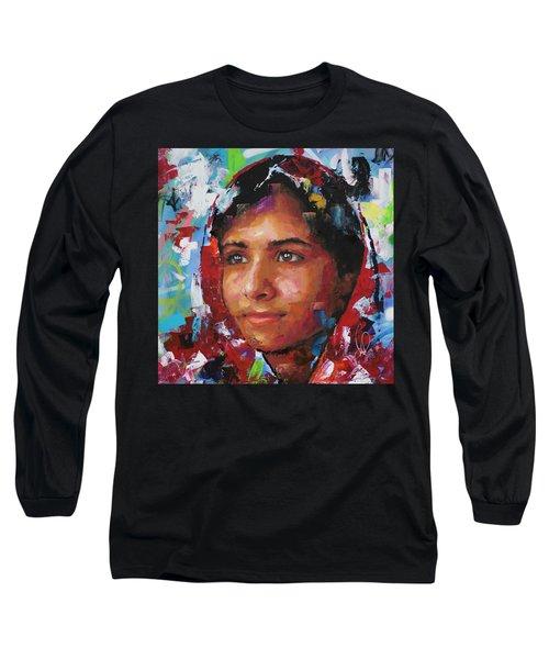 Malala Yousafzai II Long Sleeve T-Shirt