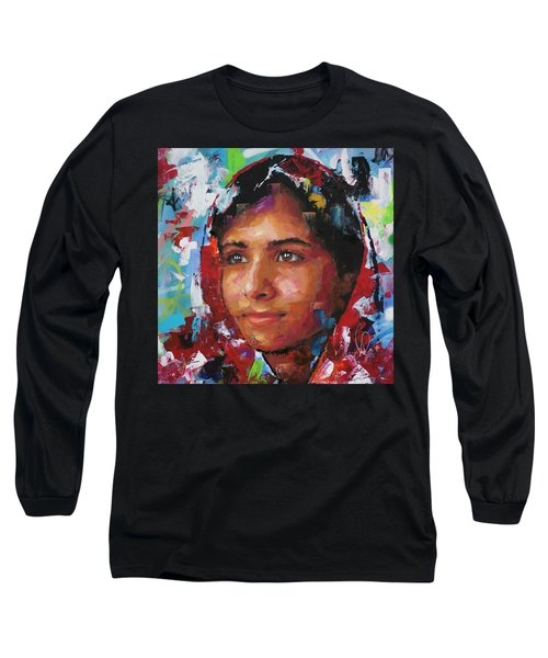 Malala Yousafzai II Long Sleeve T-Shirt