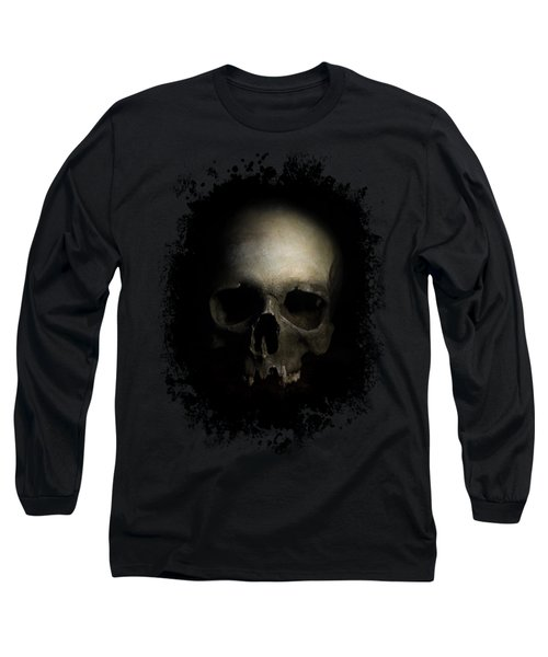 Male Skull Long Sleeve T-Shirt