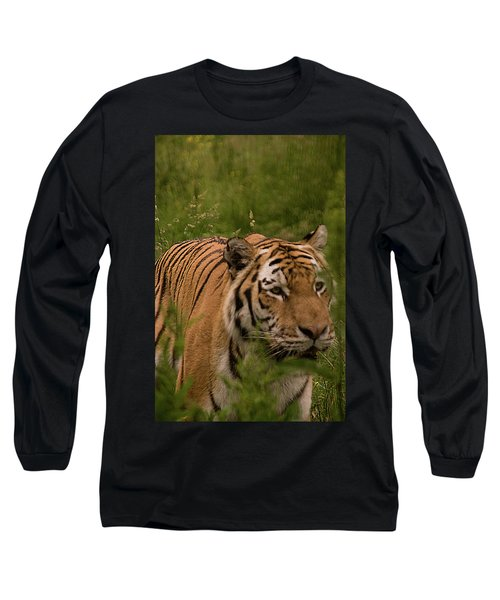 Male Tiger Long Sleeve T-Shirt