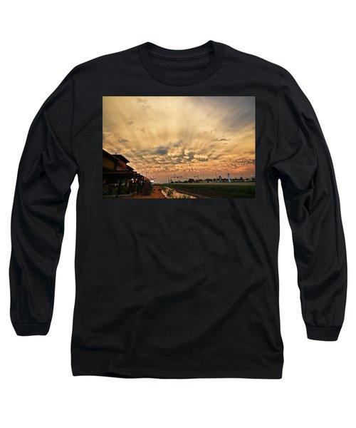 Mammatus Over Yorkton Sk Long Sleeve T-Shirt