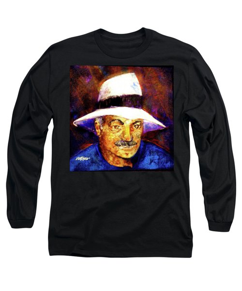 Man In The Panama Hat Long Sleeve T-Shirt