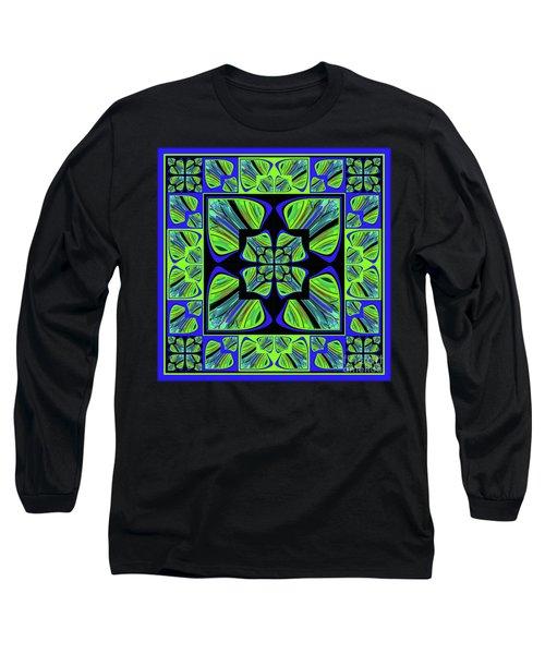 Long Sleeve T-Shirt featuring the digital art Mandala #22 by Loko Suederdiek