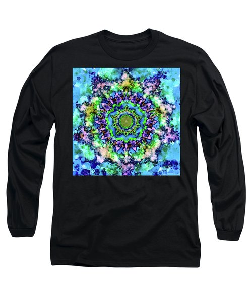 Mandala Art 1 Long Sleeve T-Shirt by Patricia Lintner
