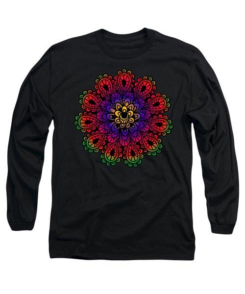 Mandala By Lamplight Long Sleeve T-Shirt