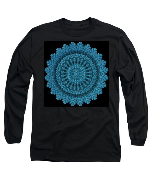 Long Sleeve T-Shirt featuring the digital art Mandala For The Masses by Lyle Hatch