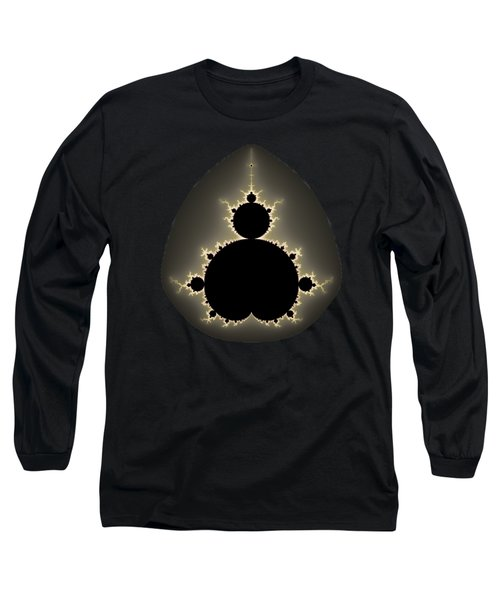 Long Sleeve T-Shirt featuring the digital art Mandelbrot Set Square Format Art by Matthias Hauser