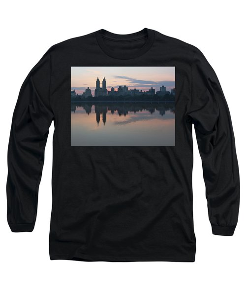 Manhattan At Night  Long Sleeve T-Shirt
