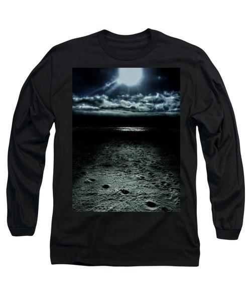 Manhattan Beach Dark Long Sleeve T-Shirt