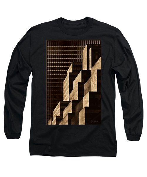 Manhattan No. 3 Long Sleeve T-Shirt by Joe Bonita