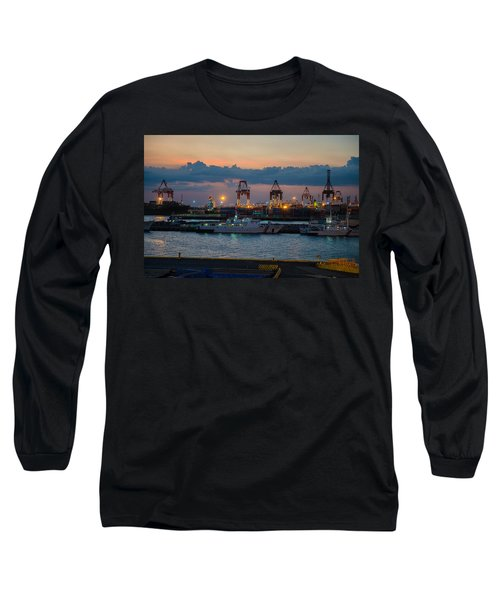 Manila Port Long Sleeve T-Shirt