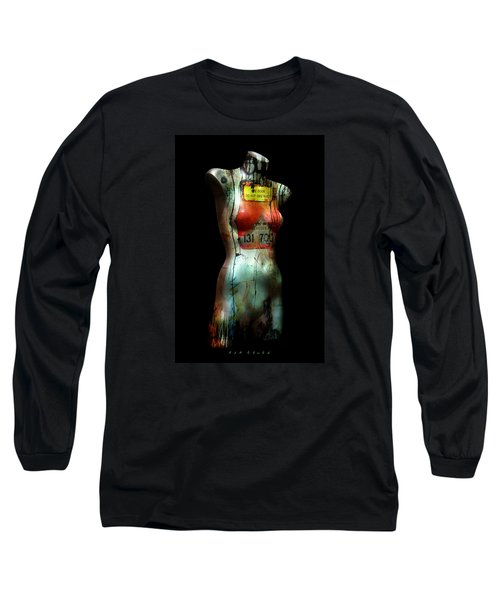 Mannequin Graffiti Long Sleeve T-Shirt by Kim Gauge