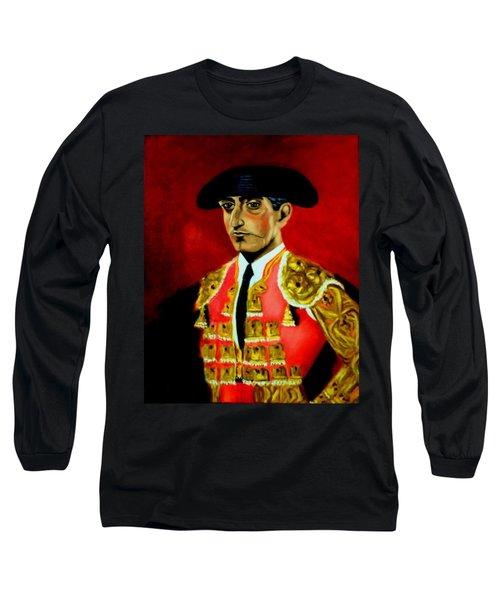 Manolete  Long Sleeve T-Shirt by Manuel Sanchez