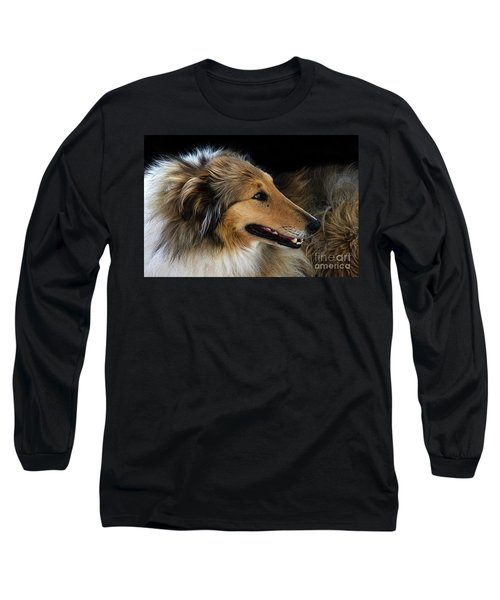 Long Sleeve T-Shirt featuring the photograph Man's Best Friend by Bob Christopher