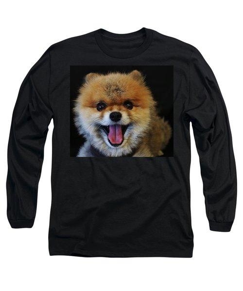 Mans Best Friend Long Sleeve T-Shirt