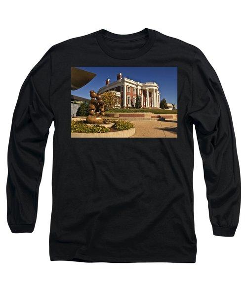 Mansion Hunter Museum Long Sleeve T-Shirt