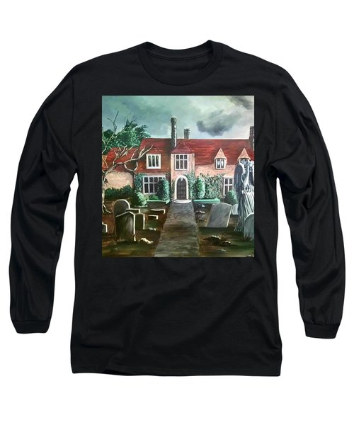 Mansion Long Sleeve T-Shirt by Persephone Artworks