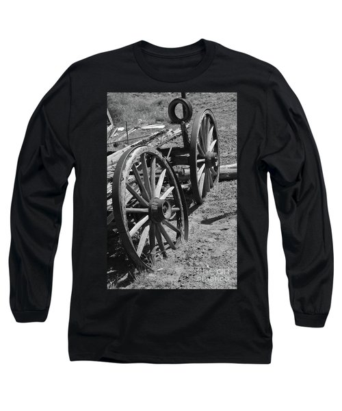 Long Sleeve T-Shirt featuring the photograph Many Years Ago by Debby Pueschel
