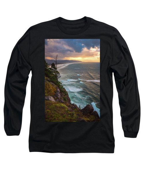 Long Sleeve T-Shirt featuring the photograph Manzanita Sun by Darren White