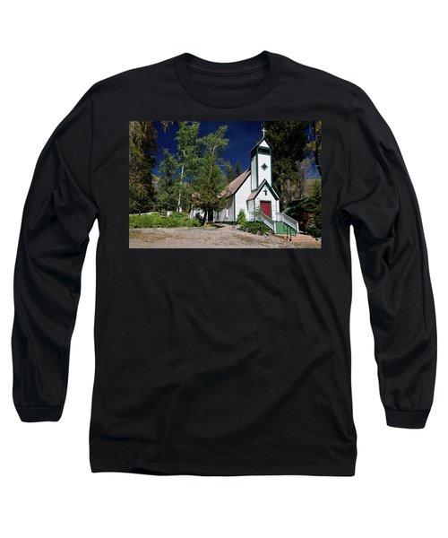 Marble Chapel Long Sleeve T-Shirt