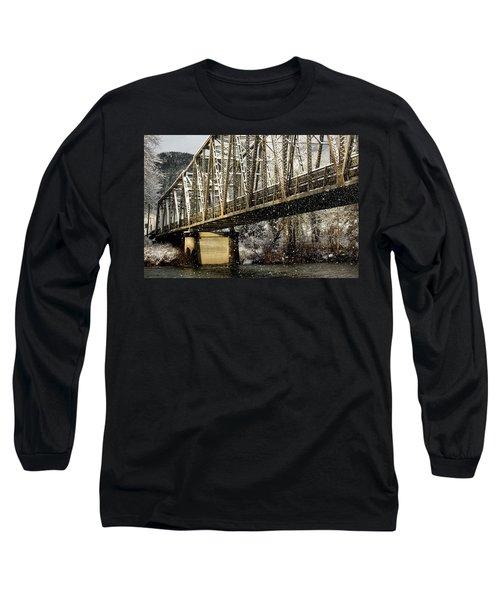 Marblemount Wa Bridge Long Sleeve T-Shirt