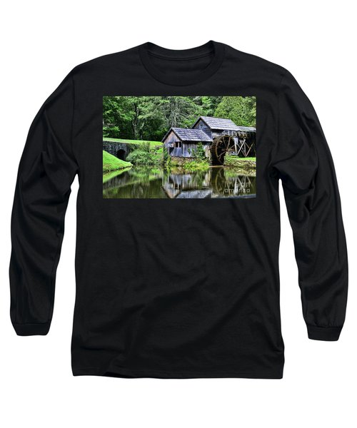 Marby Mill 3 Long Sleeve T-Shirt by Paul Ward