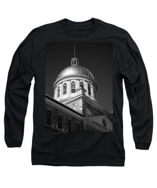 Marche Bonsecours  Long Sleeve T-Shirt