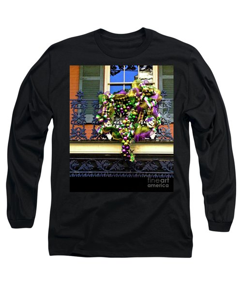 Mardi Gras Decor 1 Long Sleeve T-Shirt