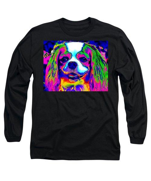 Mardi Gras Dog Long Sleeve T-Shirt