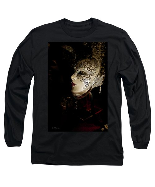 Mardi Gras Mask Long Sleeve T-Shirt