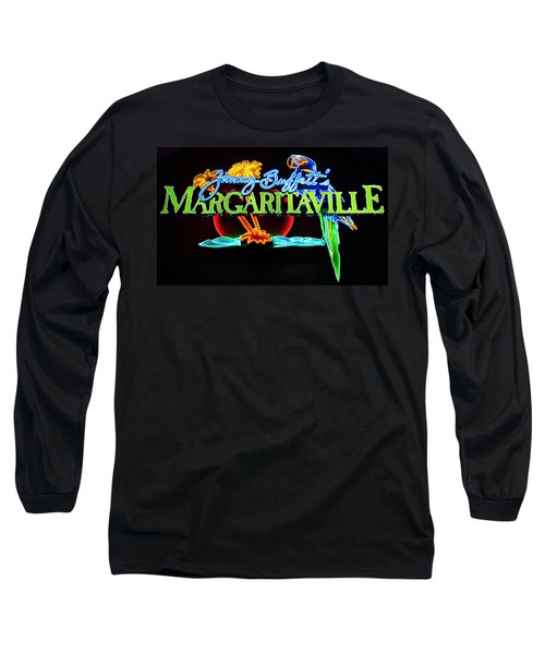 Margaritaville Neon Long Sleeve T-Shirt