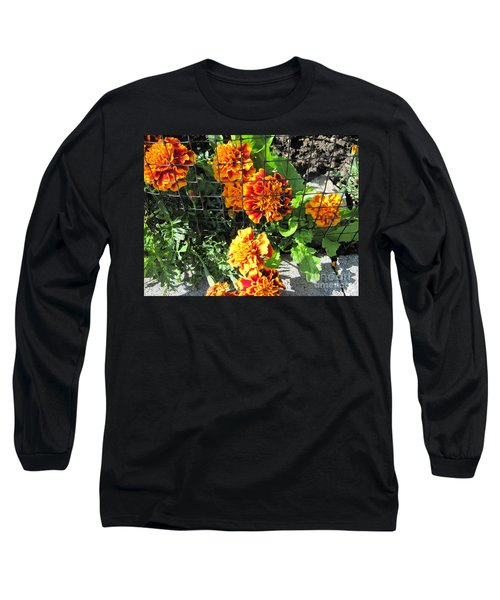 Marigolds In Prison Long Sleeve T-Shirt