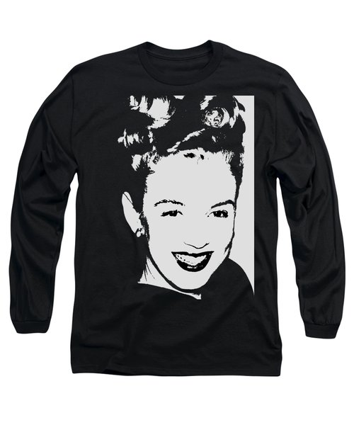 Marilyn Long Sleeve T-Shirt by Joann Vitali